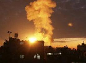 Γάζα - Βομβαρδισμός
