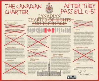 8e135b432cdd Χιλιάδες Καναδοί διαδηλώνουν εναντίον του νέου αντιτρομοκρατικού νόμου   BillC51