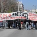 Αντιφασιστική συγκέντρωση 18/3/2012