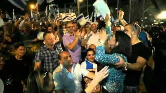 Τελ Αβίβ: Η συγκέντρωση για τον στρατιώτη που εκτέλεσε Παλαιστίνιο (ελλην.υπότιτλοι),