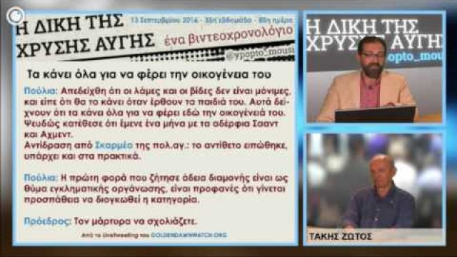 #GDtrial | Απόπειρα της Χ.Α. να δικάσει τα θύματά της